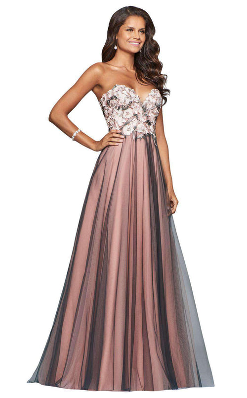 Faviana S10023 Dusty Pink/Smoke