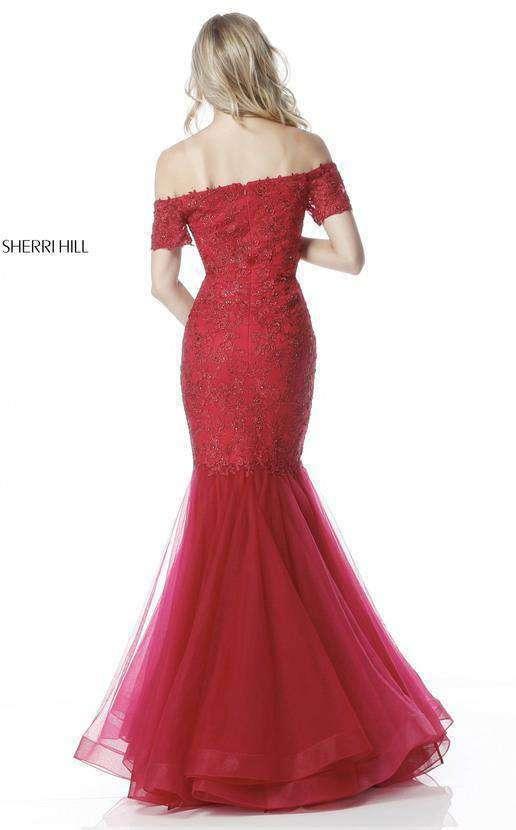 Sherri Hill 51565 Red