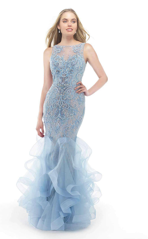 Luxury evening gowns by Morrell Maxie, New Dresses Collection 2018 ...