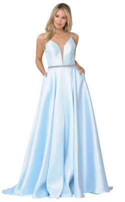 PolyUSA 8672 Dress Blue