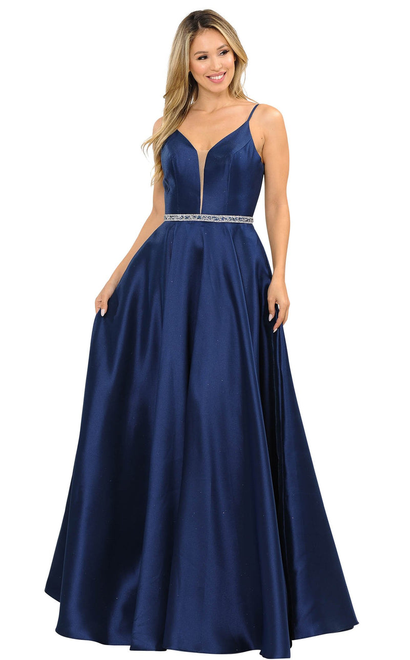PolyUSA 8672 Dress Navy