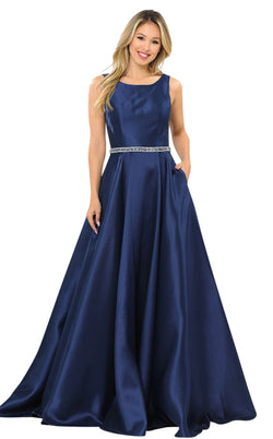 PolyUSA 8678 Dress Navy