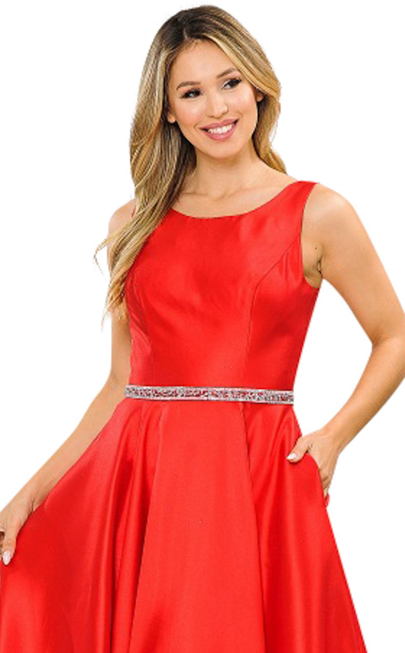 PolyUSA 8678 Dress Red