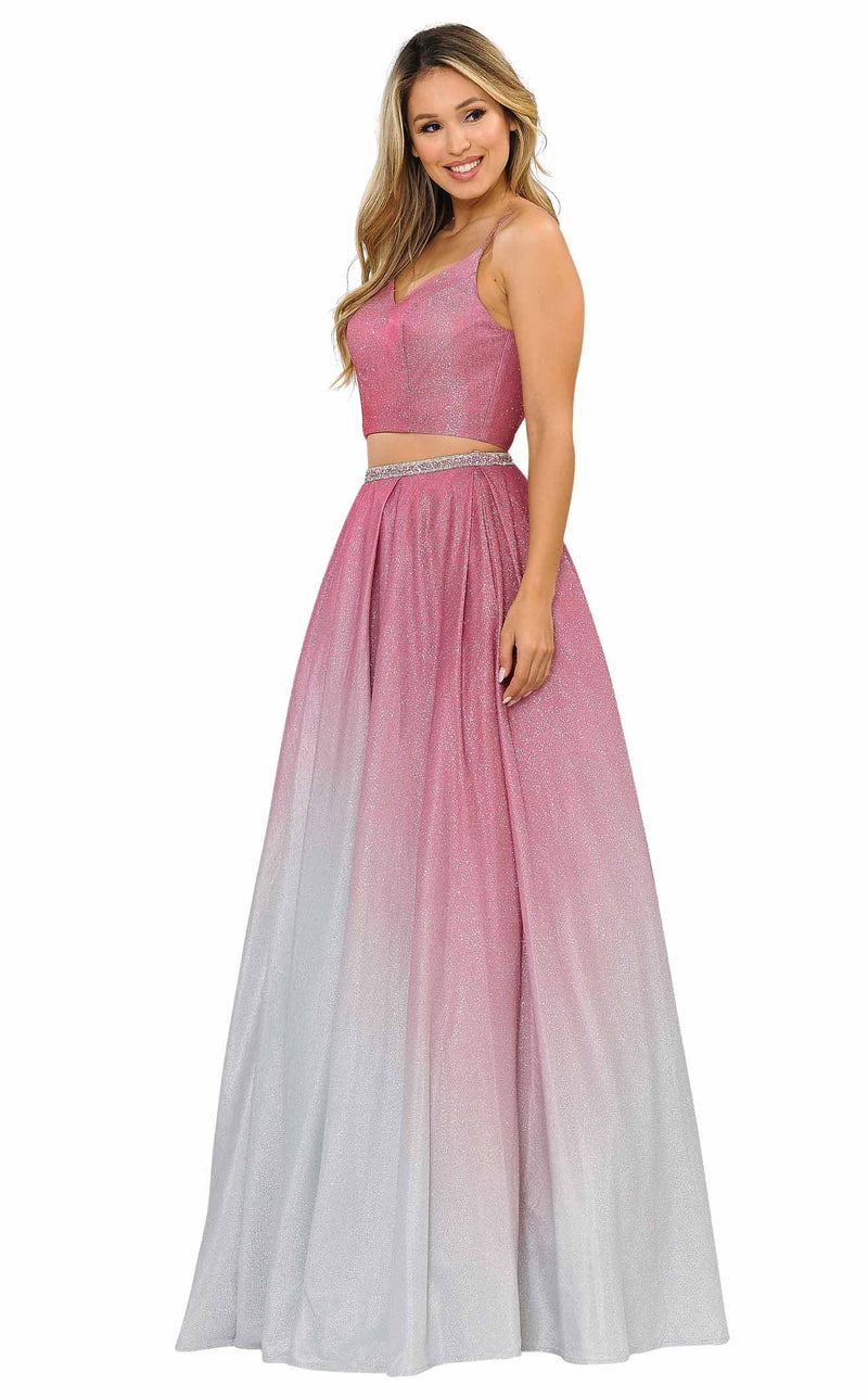 PolyUSA 8706 Dress Rose