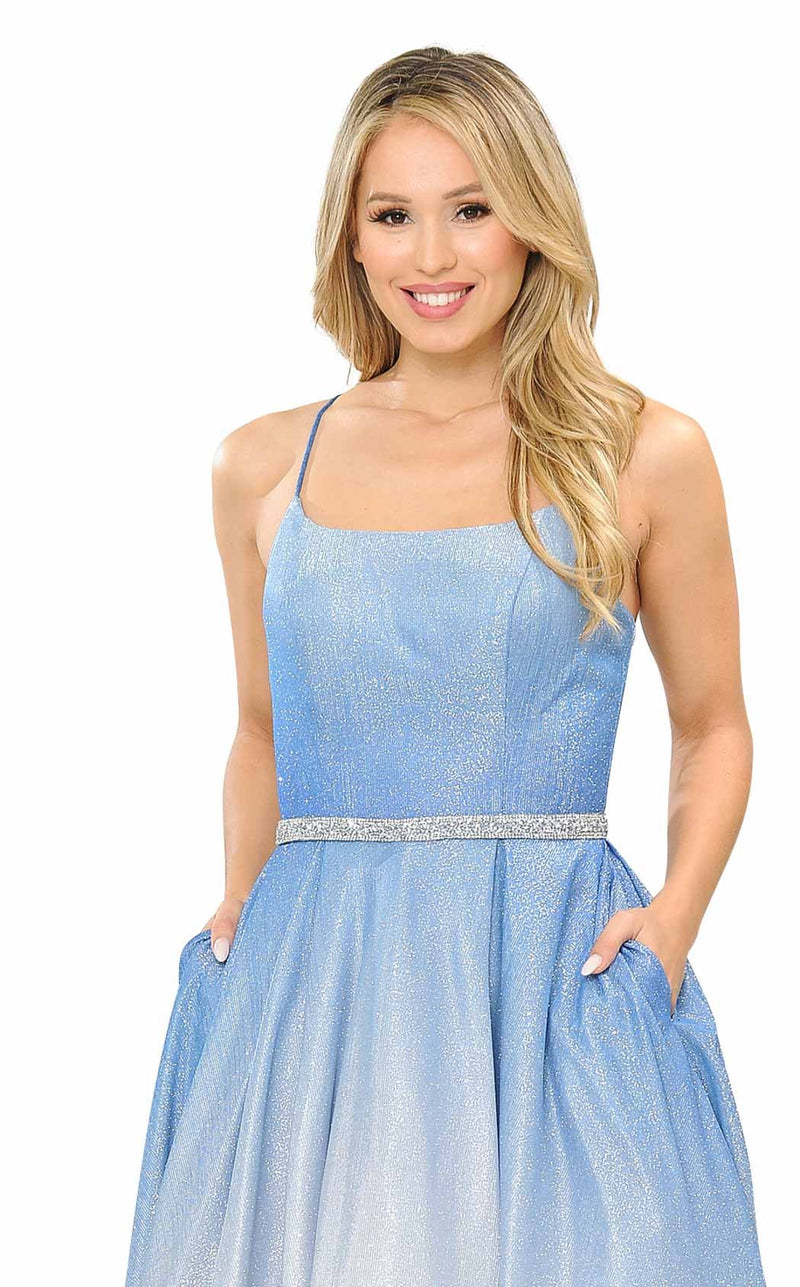 PolyUSA 8708 Dress Blue