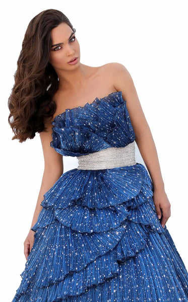 Tarik Ediz 93830 Dress Navy