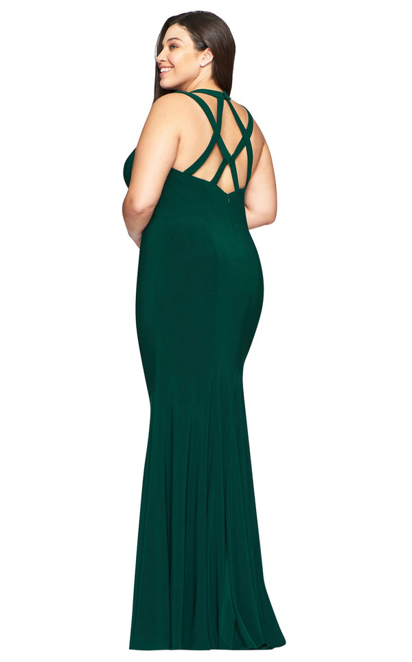 Faviana 9485 Dress Evergreen
