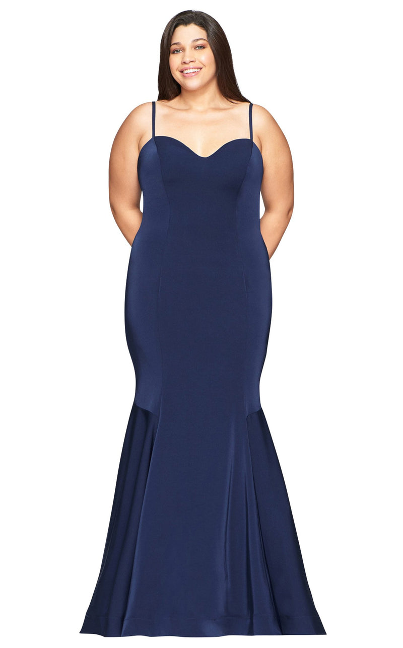 Faviana 9489 Dress Navy