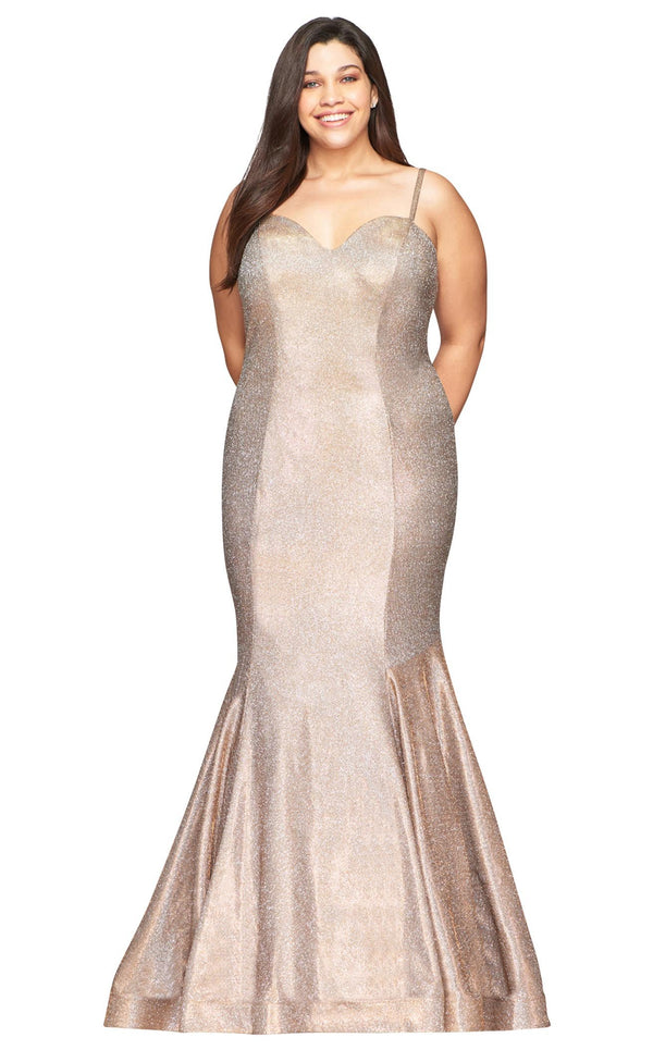 Faviana 9491 Dress Copper