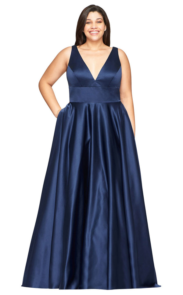 Faviana 9496 Dress Navy