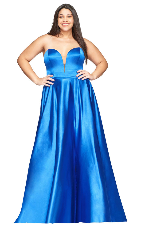 Faviana 9497 Dress Royal