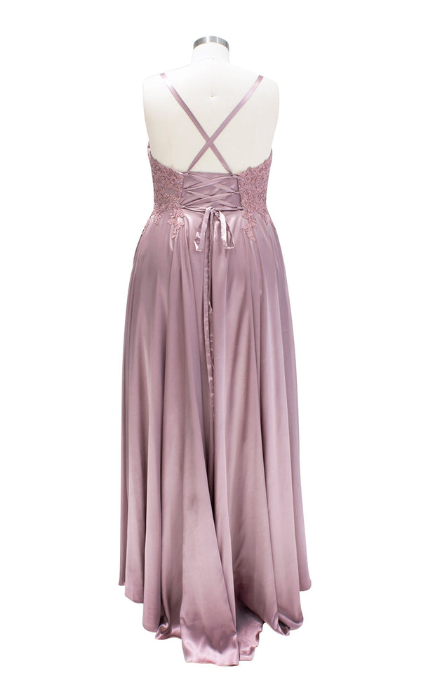 Faviana 9498 Dress Deep-Mauve