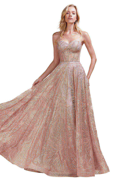 Andrea And Leo A0656 Rose-Gold