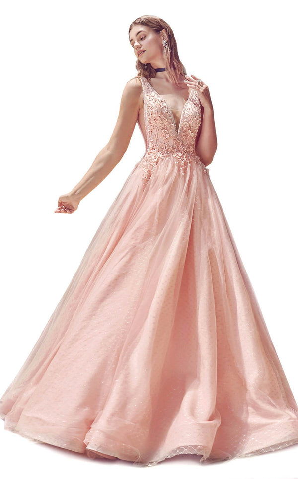 Andrea And Leo A0696 Dress Blush