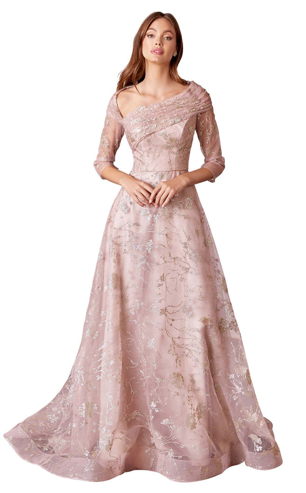 Andrea and Leo A1030 Dress Rose-Gold