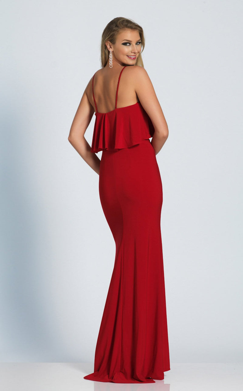 Dave and Johnny A4807 Dress Red