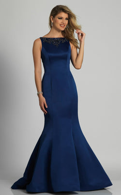 Dave and Johnny A6150 Dress Navy-Blue