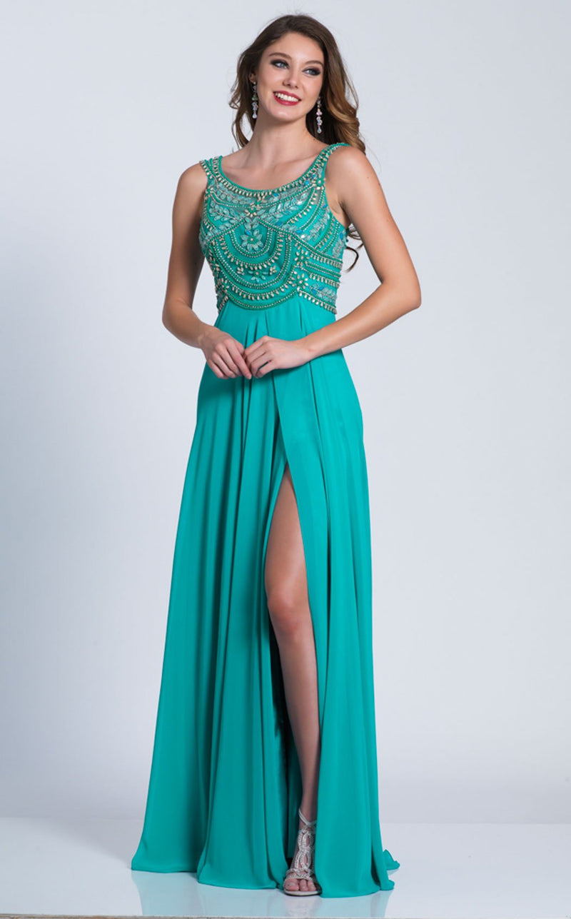 Dave and Johnny A6187 Dress Seafoam