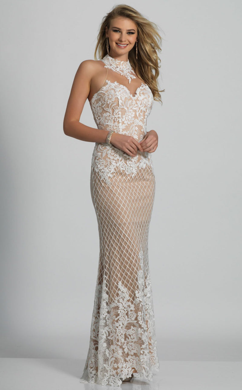 Dave and Johnny A6431 Dress Ivory