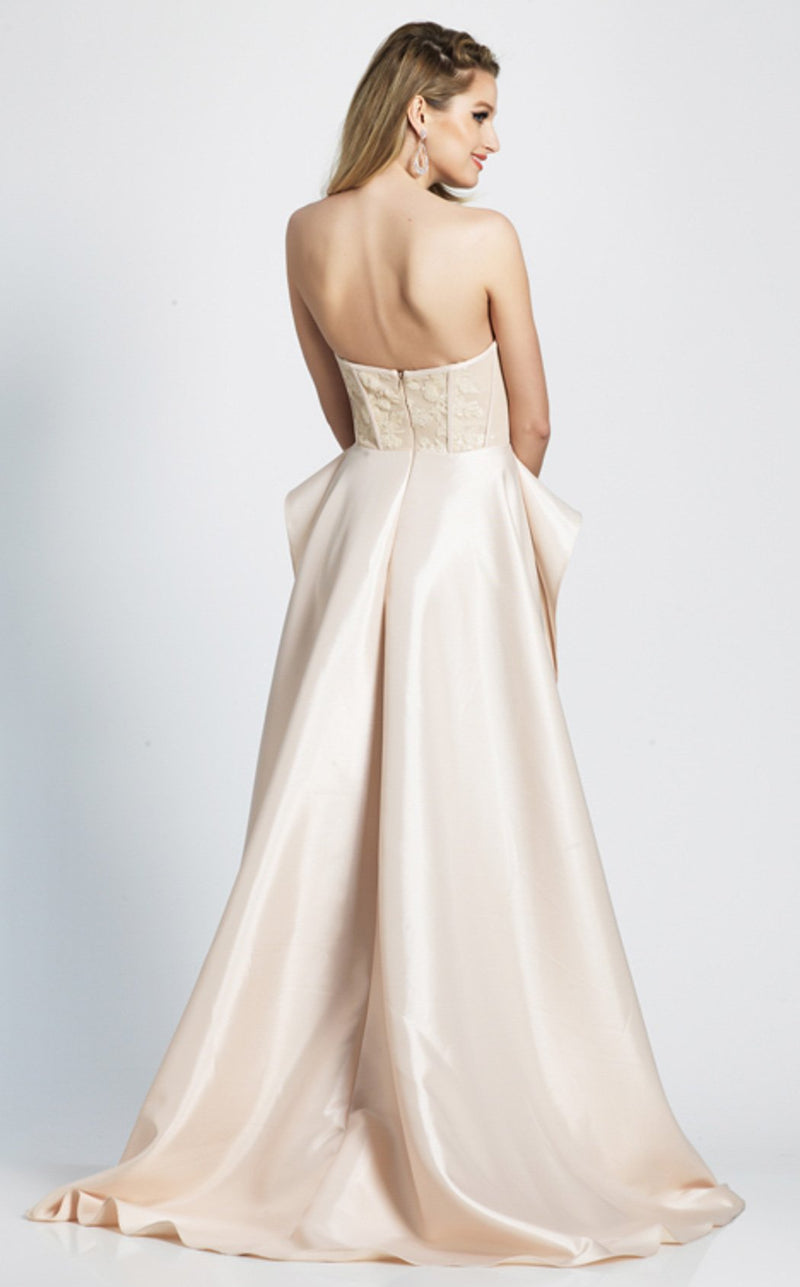 Dave and Johnny A7078 Dress Champagne