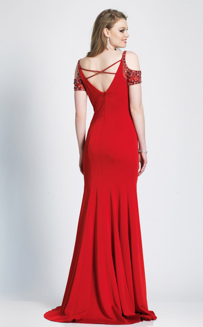 Dave and Johnny A7092 Dress Red