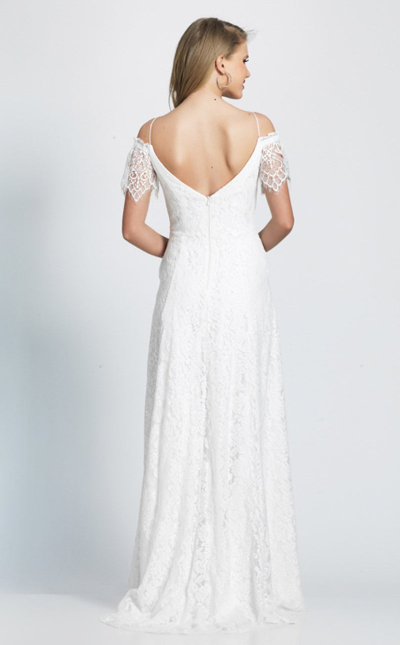 Dave and Johnny A7094 Dress Ivory