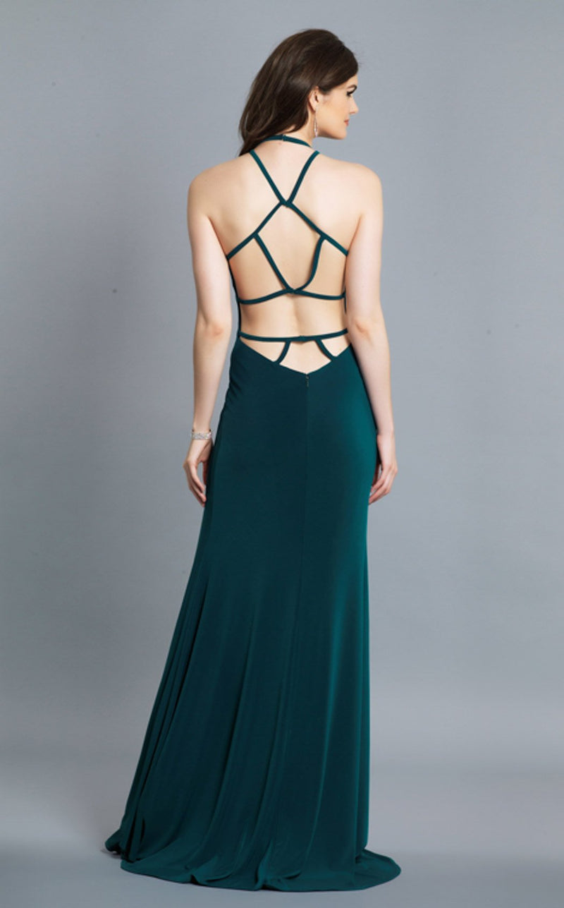 Dave and Johnny A7149 Dress Emerald