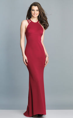 Dave and Johnny A7289 Dress Raspberry