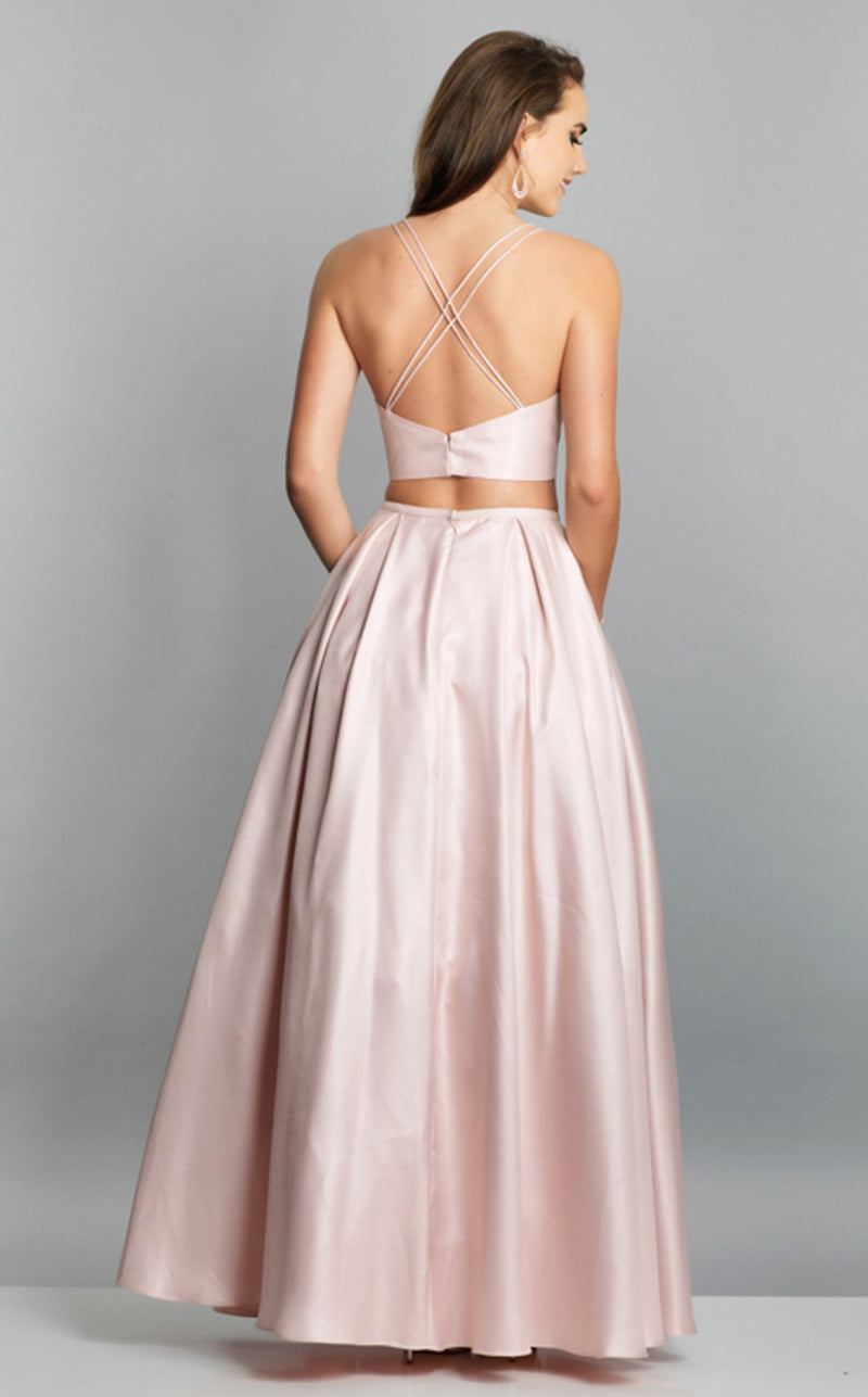 Dave and Johnny A7324 Dress Blush