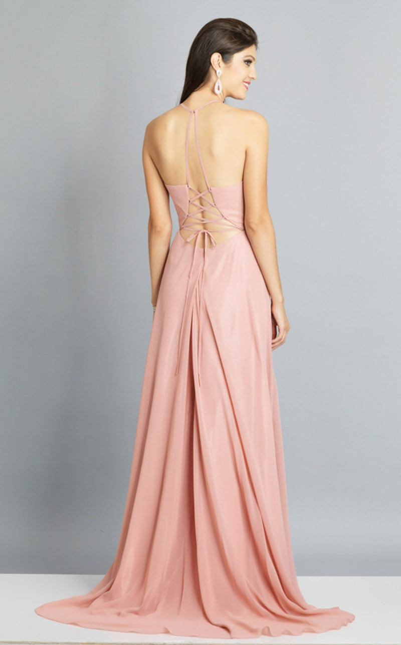 Dave and Johnny A7532 Dress Rose-Pink