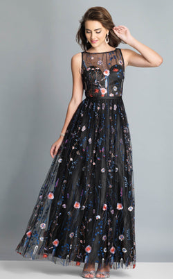 Dave and Johnny A7689 Dress Black