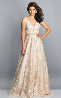 Dave and Johnny A7702 Dress Sand
