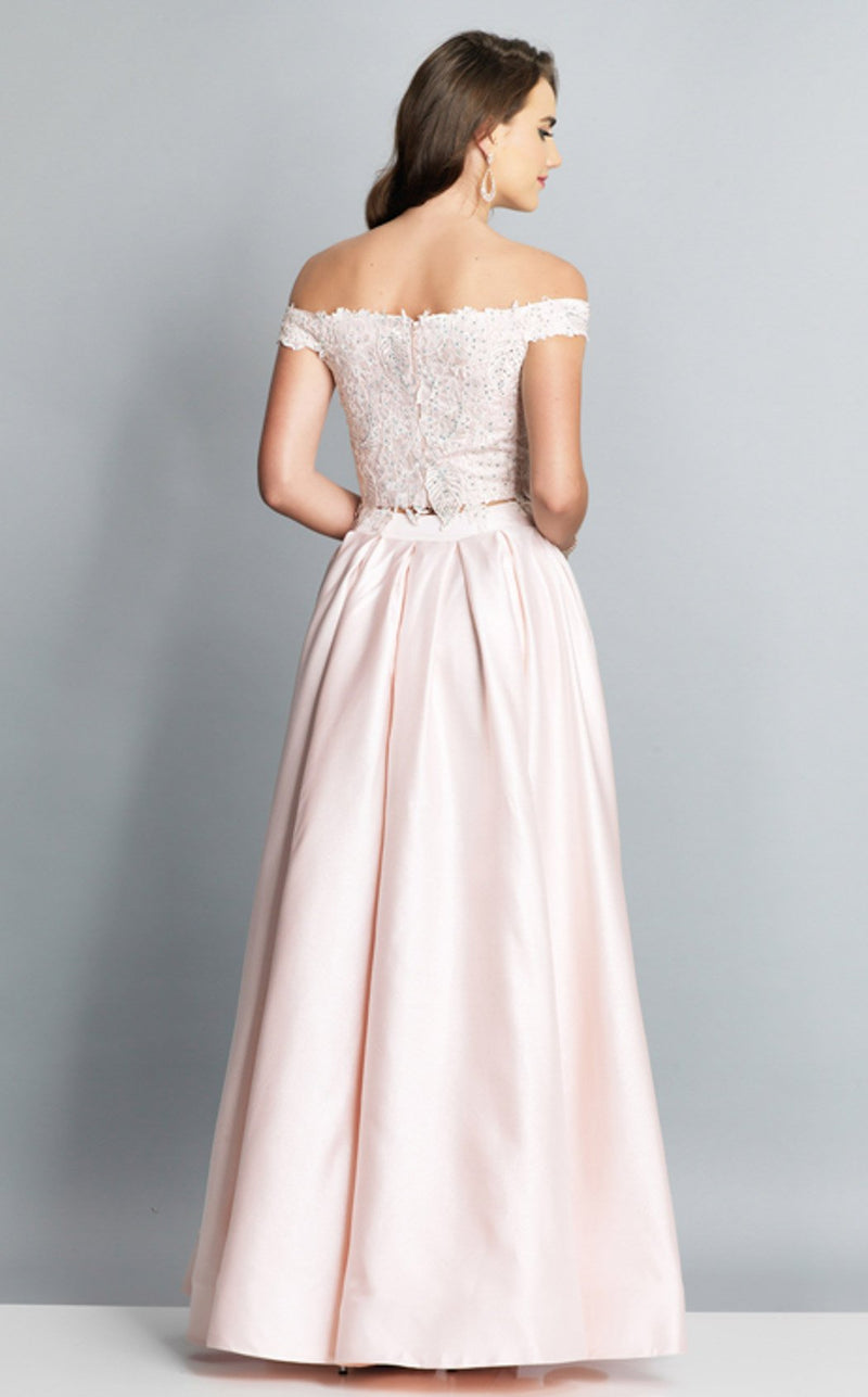 Dave and Johnny A7796 Dress Blush