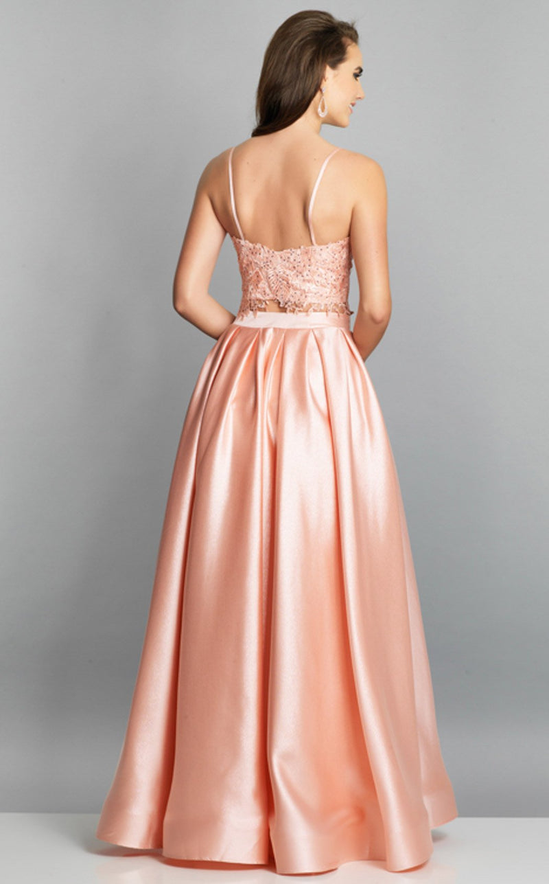 Dave and Johnny A7797 Dress Pink