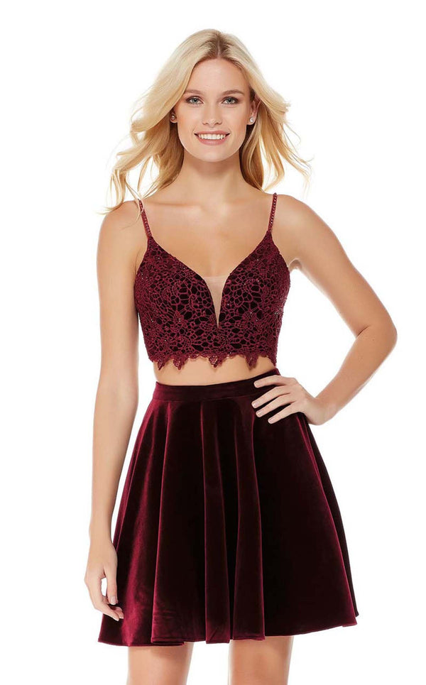 Alyce 4038 Black-Cherry