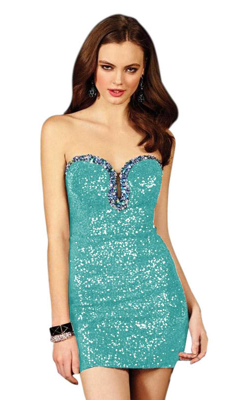 Alyce 4393 Turquoise