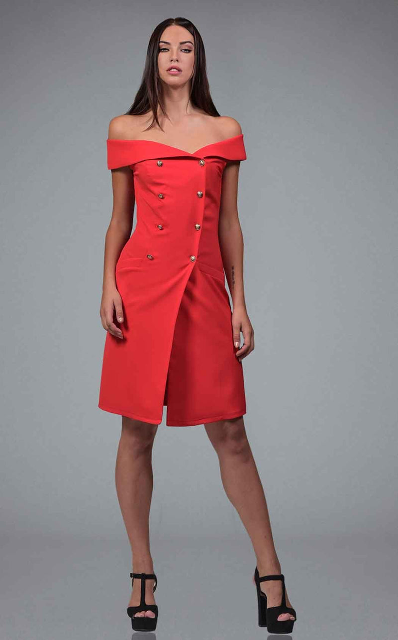 Faust B1214 Dress Red