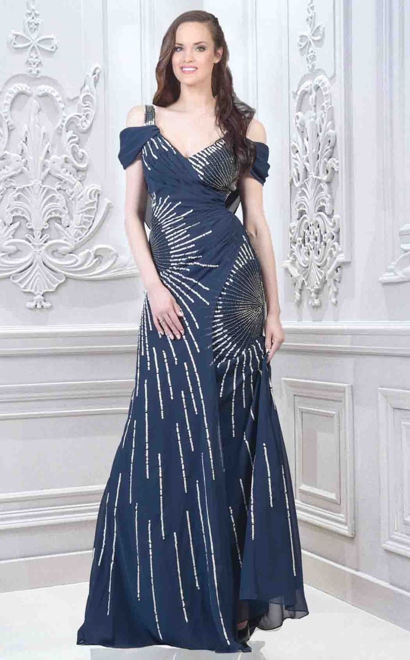 Faust B564 Dress Navy