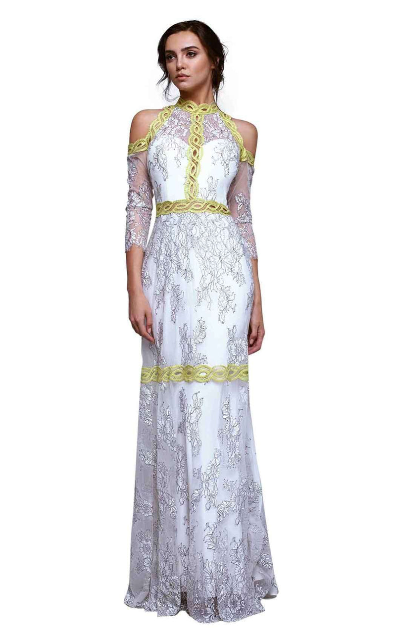 Beside Couture BC 1342 White-Lime