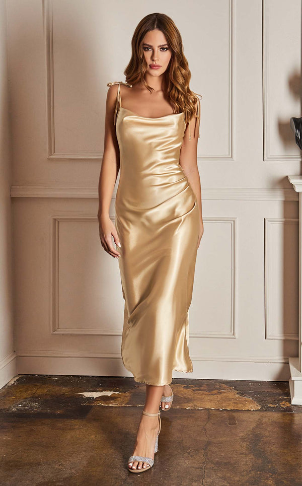 Cinderella Divine BD103 Dress Champagne-Gold