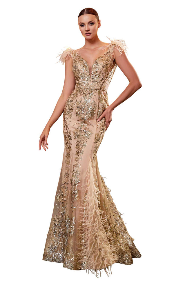Cinderella Divine C57 Dress Gold