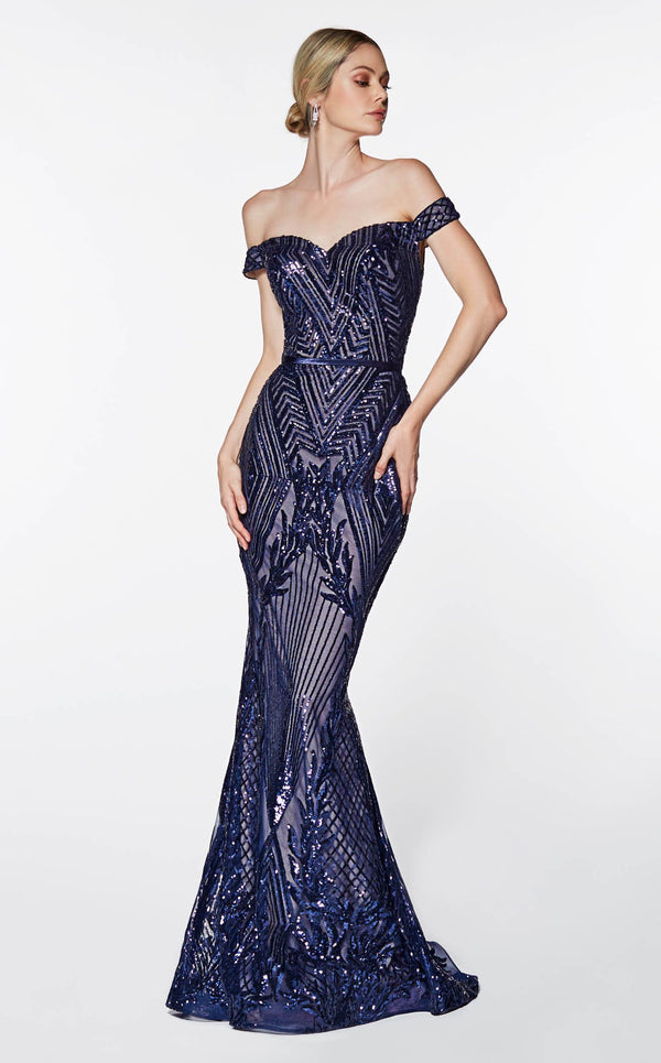 Cinderella Divine CB0039 Dress Navy
