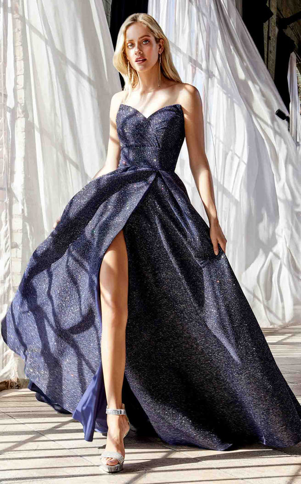 Cinderella Divine CB045 Dress Midnight-Blue