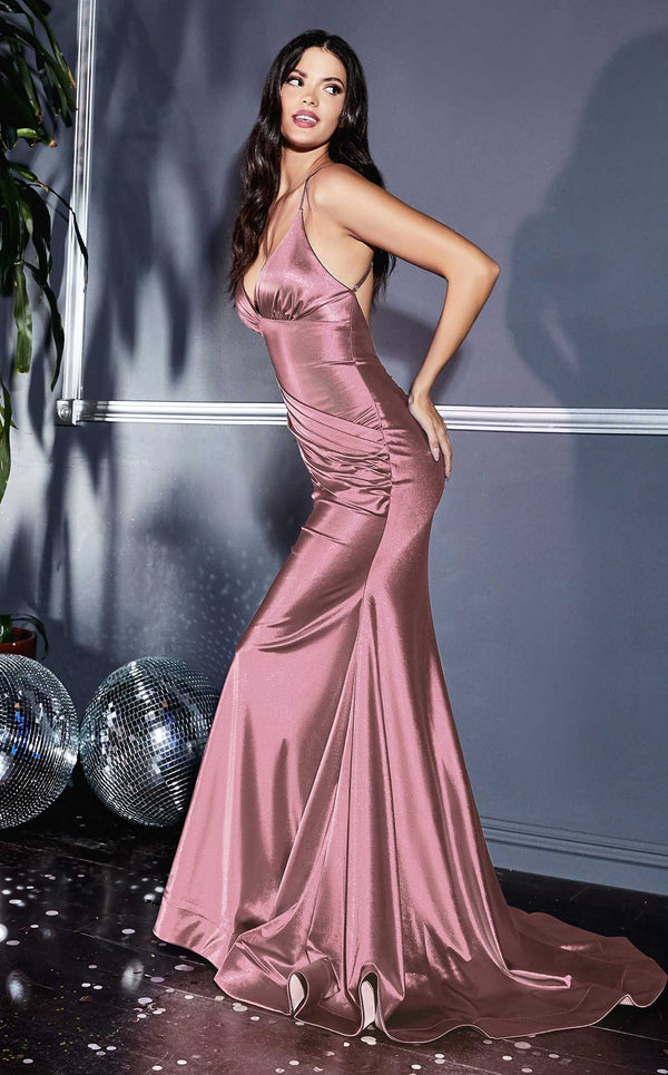 Cinderella Divine CH236 Dress Dusty-Rose