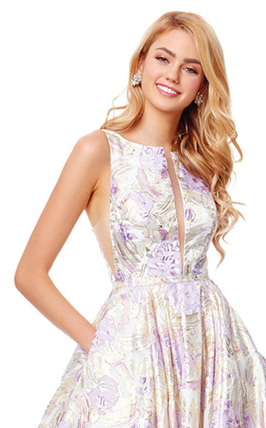 Clarisse 3868 Lilac-Gold
