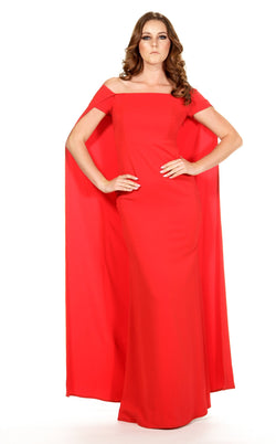 Issue NY D303L Dress Red