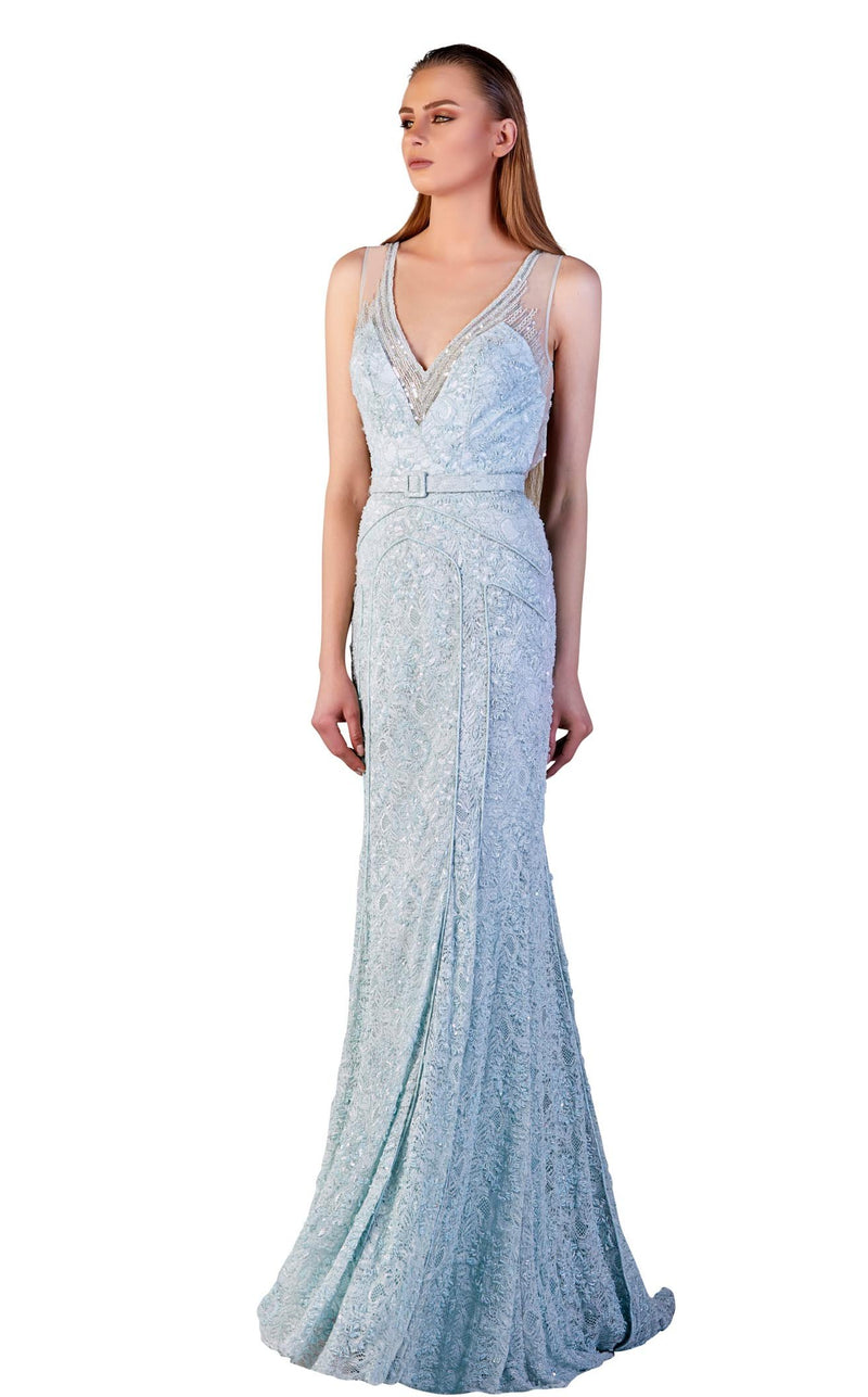 Gatti Nolli Couture ED2694 Dress Light-Blue