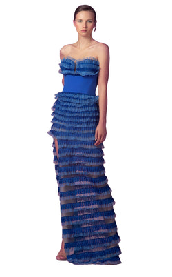 Beside Couture ED156465LK Dress Royal-Blue