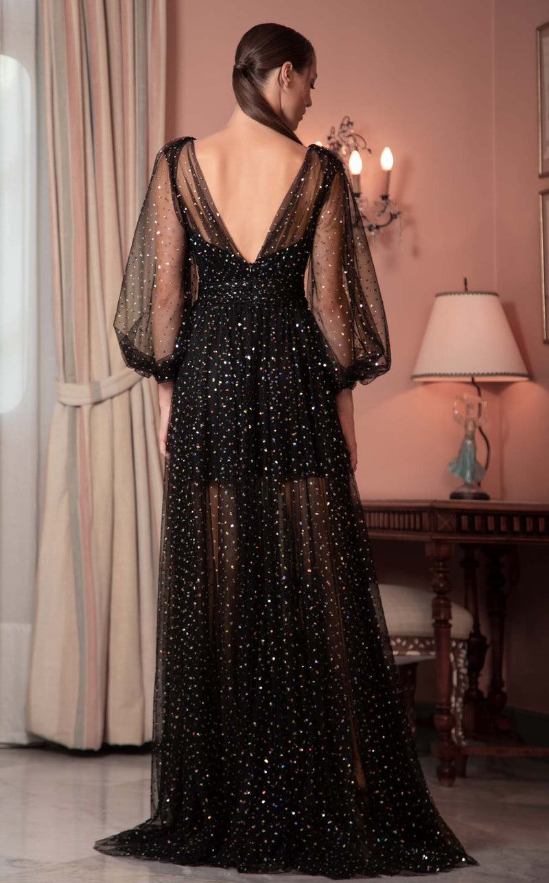 Beside Couture ED1590LD Dress Black