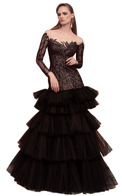 Beside Couture ED1594LD Dress Black